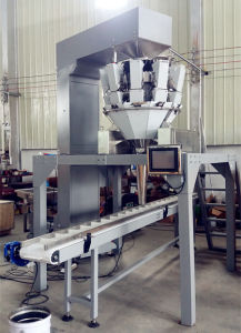 Automatic Tray/Box/Carton/Bottle/Jar Feeding Packing System with Multihead Weigher pictures & photos