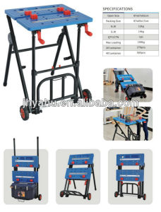 Multi-Function Work Bench Workbench with Wheels (YH-WB033) pictures & photos