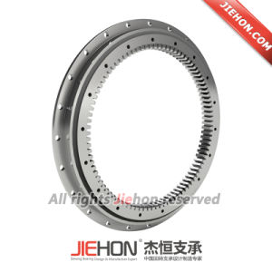 Internal Gear Slewing Bearing with Outer Flange Ring pictures & photos