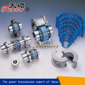 Flexible Gear Grid Coupling with Cover pictures & photos