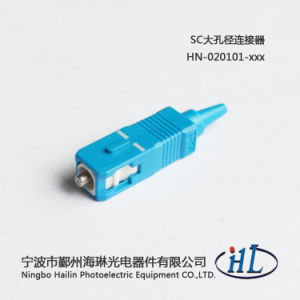 Sc Fiber Optic Connectors with Stainless Steel Ferrule 0.9mm Boot pictures & photos