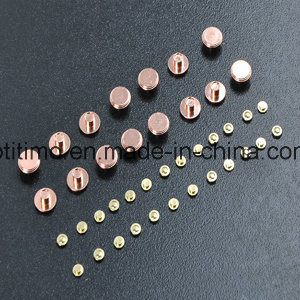 Bimetal Silver Copper Fixed Contacts Fixed Contact Rivets for Switches pictures & photos