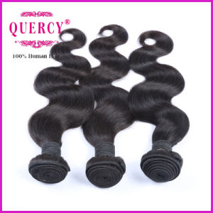 Quercy Top Grade Peruvian Human Hair Body Weave Hair Weft (BW-065B) pictures & photos