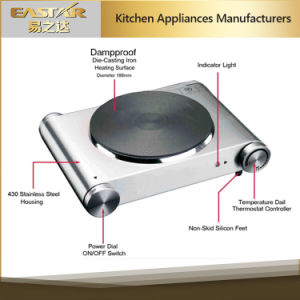 Stainless Steel Housing Single Burner Hotplate pictures & photos