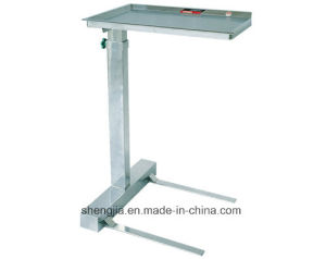 Sjt020 Tray Stand with One Post (which can be raised and lowered)