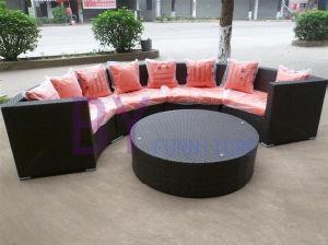 PE Rattan Sofa Outdoor Corner Sofa Home Furniture pictures & photos