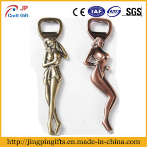 2017 Cheap Price Aluminum Material Bottle Opener with Ring pictures & photos