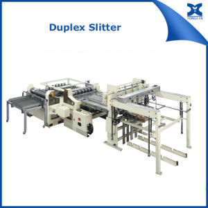 Duplex Slitter for Automatic Tin Can Making Line pictures & photos