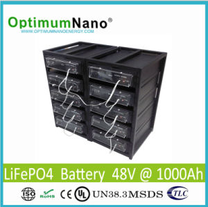 Rechargeable Lithium Battery 48V 1000ah for Solar Energy System/off Grid pictures & photos