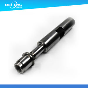 Black Anodized Treatment Hollow Aluminum Tube CNC Machine Fabricated Aluminum Parts pictures & photos