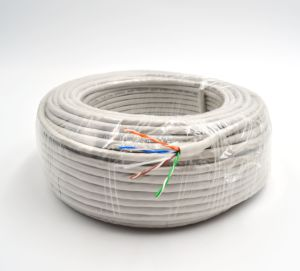 Cat5e LAN Cable UTP Cable 100m 0.5mm Copper PVC Network Ethernet Cable pictures & photos