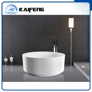 Cheap Acrylic Deep Stand Alone Round Bathtub (KF-732) pictures & photos