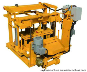Movable Qt40-3A Egg Layer Block Machine Hollow Brick Making Machine pictures & photos