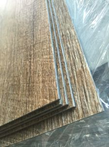 PVC Luxury Dry Back Floor Tiles / Planks (wood grain) pictures & photos