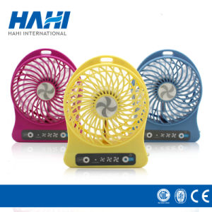 Best Summer Gift Battery Powered USB LED Mini Handheld Fan pictures & photos