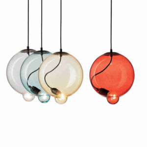 Decoration Indoor Lighting Modern Color Glass Pendant Lamp Gd6023-1 pictures & photos