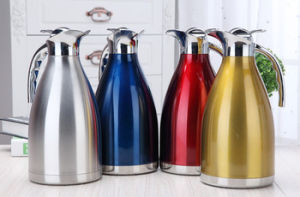 European Style Stainless Steel Coffee Pot pictures & photos