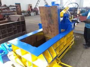 Automatic Hydraulic Scrap Metal Steel Car Shear Baler pictures & photos