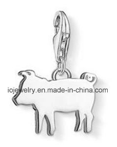 Laser Cut Pig Charm Pendant Paypal Payment Jewelry pictures & photos
