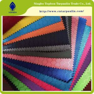 PVC Coated 600d Polyester Oxford Fabric Top287 pictures & photos