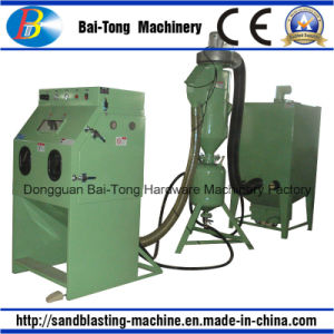 Manual Pressure Type Sandblast Cabinet for Aluminum Products pictures & photos