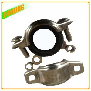Stainless Steel Ss304 and 316 Highpressure Grooved Pipe Fitting Couplings pictures & photos