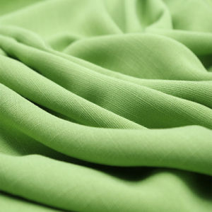 Cotton Spandex Fabric Linen Look Slub Woven Textile Fabric
