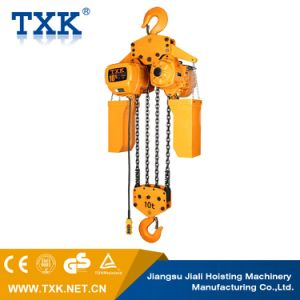 10 Ton Electric Chain Hoist with Hook Suspension pictures & photos