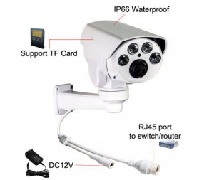 960p Wdm 4X/10X Zoom Onvif P2p Outdoor PTZ IP Security Camera pictures & photos