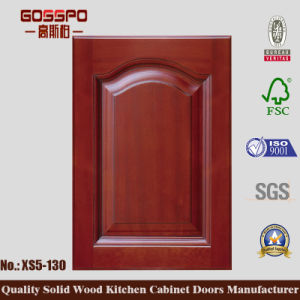 Korean Style Teak Kitchen Cabinet Door (GSP5-040) pictures & photos