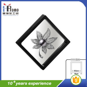 Transparent Black Gift Packaging Box pictures & photos