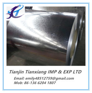 Commercial Quality Carbon Steel Zinc Coated Galvanized Steel Coil pictures & photos