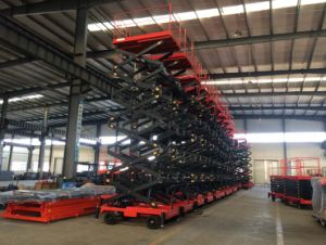 6-16 Meters Economy Scissor Lifts with Ce Certificate pictures & photos