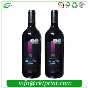 Cheaper Custom Wine Sticker Labels Printing in China (CKT-LA-413) pictures & photos