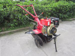4-Stroke Air-Cooling Walking Behind Tractor Rotary Tiller in Great Demand pictures & photos