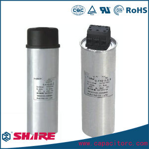 Round Type Self-Healing Shunt Power Factor Compensation Capacitor pictures & photos