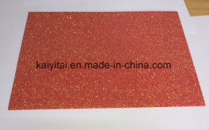 Non-Toxic Tasteless EVA Foam Glitter Sheet pictures & photos