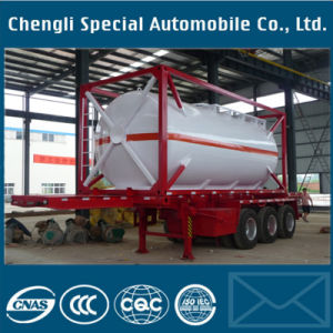Cheap Petrol Fuel Chemical Tank Container Semi Trailer Low Price pictures & photos