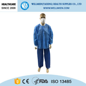 Disposable Nonwoven Medical Visitor Lab Coat pictures & photos