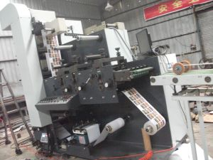 Flexo Printing Machine One Color Zb-320 pictures & photos