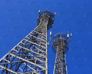 Steel Structure Telecom Lattice Tower for Sale