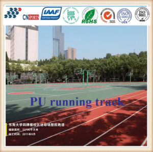 Iaaf Approved Rubber Running Track for 400 Meter Standard Track Field pictures & photos