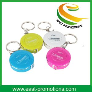 Promotional Items Mini Steel Tape Measure Metal Key Chain pictures & photos