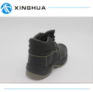 Work Leather in Safety Shoes pictures & photos