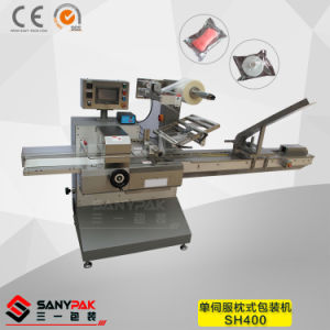 Biscuit/Bread/Ice Cream/Chocolate Single Servo Horizontal Flow Wrapper pictures & photos