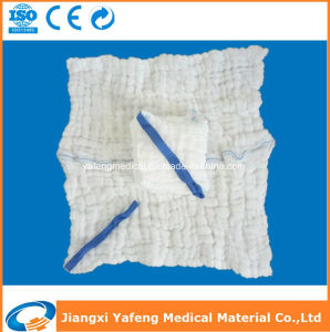 Sterile Medical Absorbent Lap Sponge with X-ray pictures & photos