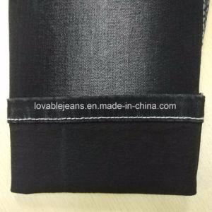 10 Oz Black Denim Fabric (T135) pictures & photos