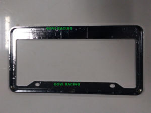 Custom License Plate Frames with ABS 312X160mm Chromed Plate Holder pictures & photos