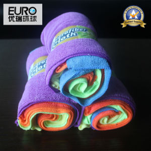 Factory Price Banderole Packed Colorful Microfiber Cloth pictures & photos