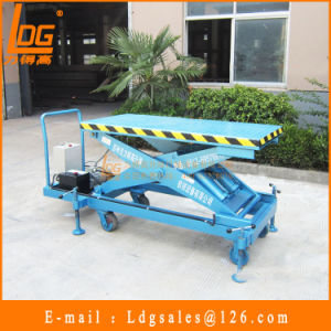 2.5tons 900mm Hydraulic Scissor Material Handling Equipment (SJY2.5-0.9) pictures & photos